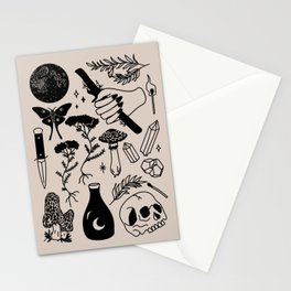 Forest Spells Stationery Cards