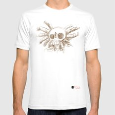 ever plug  Mens Fitted Tee MEDIUM White