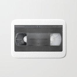 Vintage video cassete Bath Mat