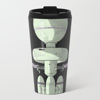 2001 Travel Mugs featuring Tales of Pirx the Pilot by Señor Salme