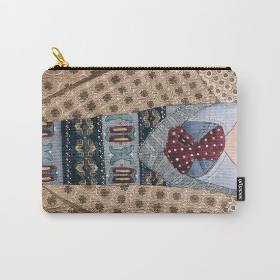 Pattern Dapperness Carry-All Pouch