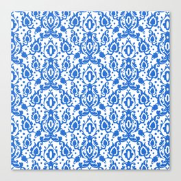 Tunisian Blue Casbah Canvas Print