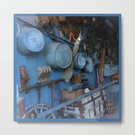 Blue Americana Collection Metal Print