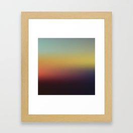 Sunset Gradient 5 Framed Art Print
