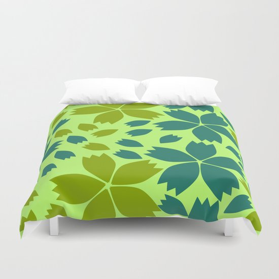 Jungle storm Duvet Cover