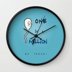 1 in Million Wall Clock