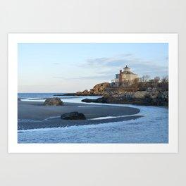 Good Harbor Beach Gloucester MA Art Print