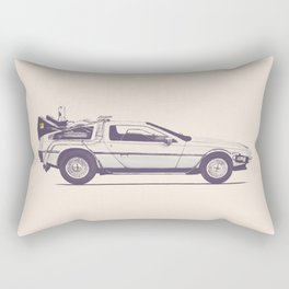 Famous Car #2 - Delorean Rectangular Pillow