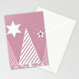 Stars forest Stationery Cards