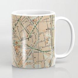Vintage Map of Milan Italy (1911) Coffee Mug