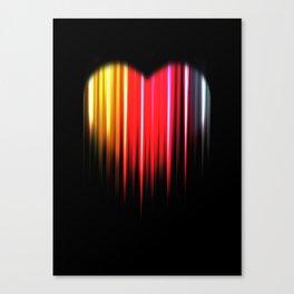 Sookie Heart Canvas Print