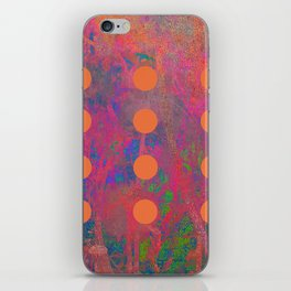 Dotted Abstract iPhone Skin