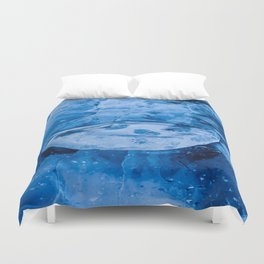 Smiley of Baikal Duvet Cover