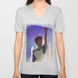A Blue Boi Unisex V-Neck