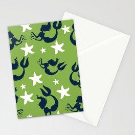 Mermaids and Starfish Stationery Cards