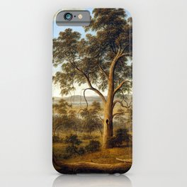 John Glover Launceston and the River Tamar iPhone Case