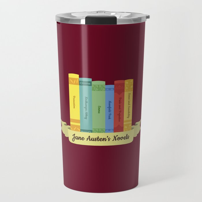 The Jane Austen's Novels III Travel Mug