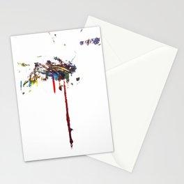 Dos Splatter  Stationery Cards