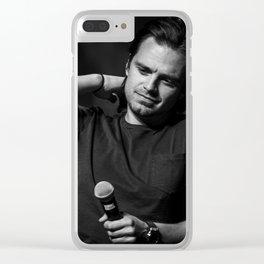 Sebastian Stan | SLCC 2015 Clear iPhone Case