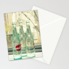 rainy day ~ vintage soda bottles Stationery Cards