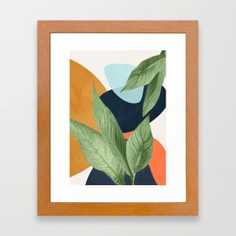 Nature Geometry VIII Framed Art Print