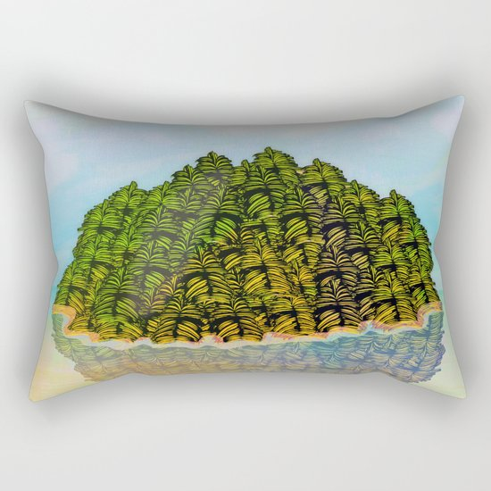 Lost in the Green Island / Nature 05-12-16 Rectangular Pillow