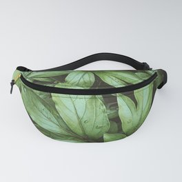 Peony Leaves Fanny Pack