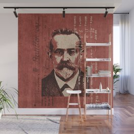 ROGUES GALLERY / Alphonse Bertillon (1853-1914) - Criminologist, France Wall Mural