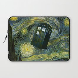 TARDIS STARRY NIGHT Laptop Sleeve