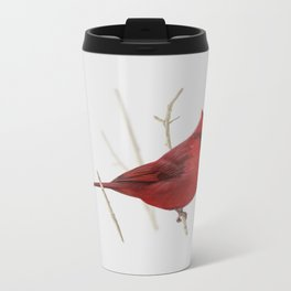 Cardinal Metal Travel Mug