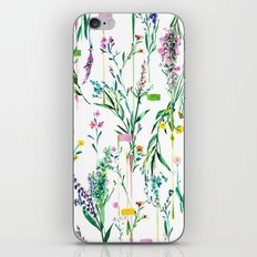 Fleur botanique iPhone & iPod Skin
