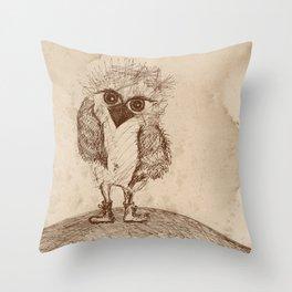 Tough Chick Throw Pillow