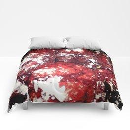 Powdered Red Velvet Comforters