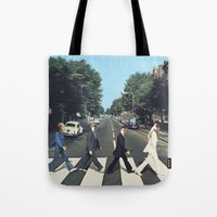 potter Tote Bags featuring Potter Road by alboradas