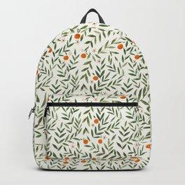 Oranges Foliage Backpack