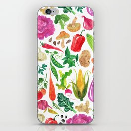 VEGGIES iPhone Skin