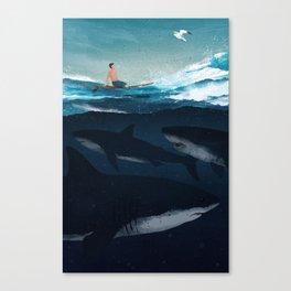 Distraction Canvas Print