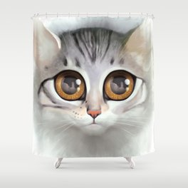Kitten 5 Shower Curtain