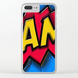Bam Clear iPhone Case