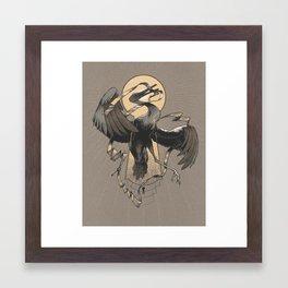 Flight of the Keybirds Framed Art Print