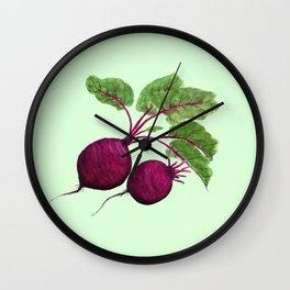beetroot Wall Clock