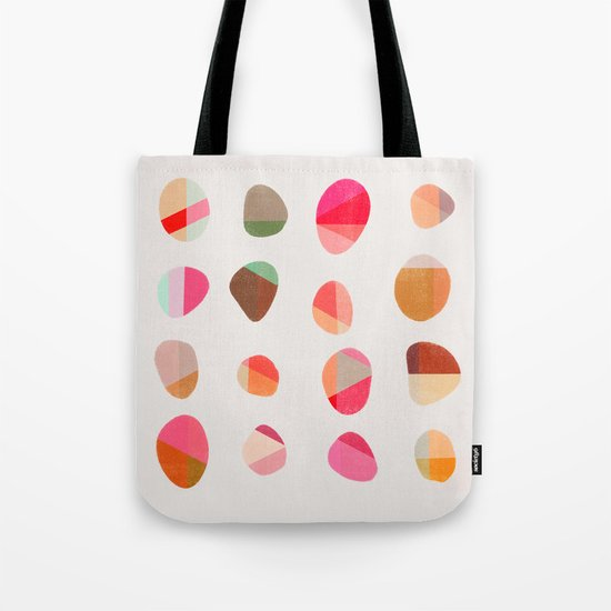 Painted Pebbles 5 Tote Bag