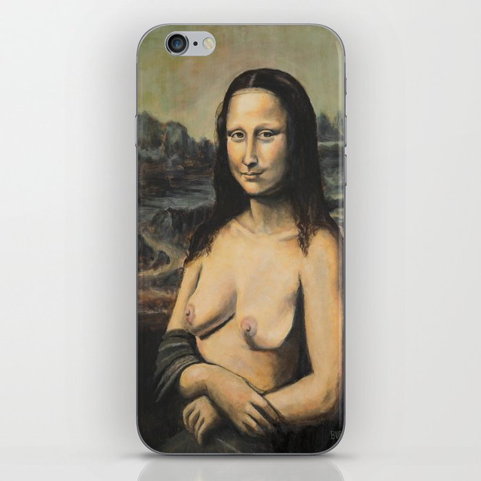 Moaner Lisa iPhone Skin