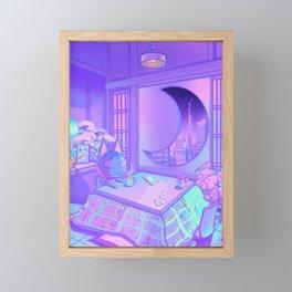 Moonlight Rose Framed Mini Art Print