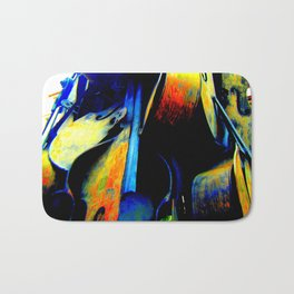 Technicolor Cellos  Bath Mat