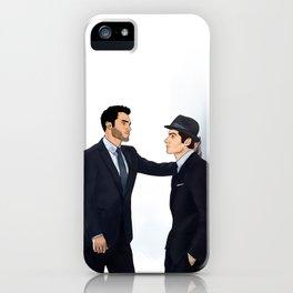 Sterek White Collar AU iPhone Case