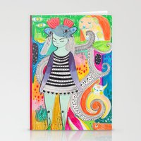 rubyetc Stationery Cards featuring burst by rubyetc