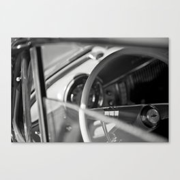 Car Cockpit 09 Canvas Print