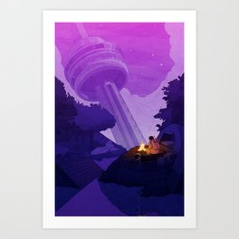 Earth Colony Orchestra 2 Art Print
