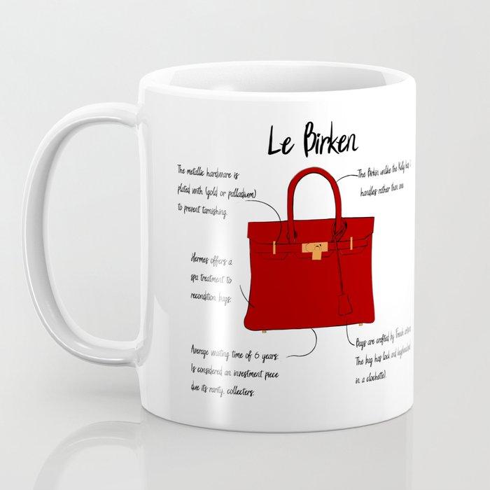 Anatomy of a Birkin Bag Coffee Mug
